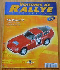Voitures de rallye de collection, Altaya,n°14,Alfa Romeo TZ,Coupe des Alpes 1964