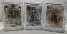 3 PK Final Fantasy XIII Sazh Katzroy, Oerba Yun Fang, and Hope Estheim Figurines