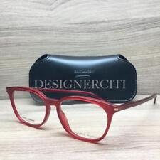 587db89afb0 Saint Laurent SL 38 Eyeglasses Transparent Red 0N7 Authentic 52mm