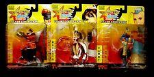 Capcom vs SNK Series 1 Mai Shiranui + Cammy + M. Bison Set of 3 Figures 2006