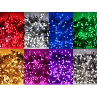 Luccika Pro stringa serie catena di luci di Natale a led con flash per esterno