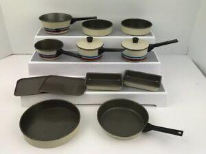 Vintage Chilton Aluminum Specialty Child's Pretend Play Pots, Pans Cookie Sheets