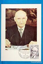 ROBERT SCHUMAN   Carte Postale Maximum FDC Yt C 1826