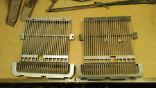 74 1974 Oldsmobile Cutlass Supreme grill grilles front plastic inserts set pair