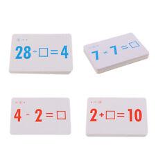 144 Pcs Kid Math Flash Cards (Subtraction Addition Division Multiplication)