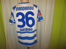 "MSV Duisburg Nike Matchworn Trikot 2012/13 ""RHEIN POWER"" + Nr.36 Mandiangu Gr.M"