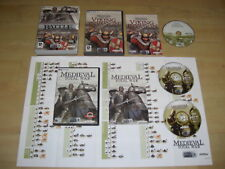 MEDIEVAL TOTAL WAR 1 Battle Collection inc base  MTW game + VIKING INVASION Pc