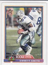 EMMITT SMITH Bowman ROOKIE SUPER STAR CARD Dallas Cowboys Football NFL HOFer!