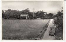 PONTARDDULAIS Swansea Bowling Green Coedbach Park RP #PTDS11 by Frith Unused