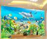 Papel Pintado Mural De Vellón Animales Del Fondo Marino 2 Paisaje Fondo Pantalla