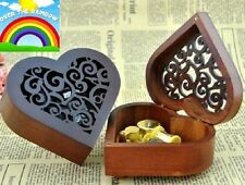 Heart Wood Wind Up Music Box : SOMEWHERE OVER THE RAINBOW