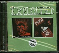 The Exploited Let's Start A War / Live And Loud!! CD new Punk Rock