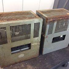 Pair Of Motiograph MA-7505-A  Old Theater Tube Amplifier Era Western Elec Altec