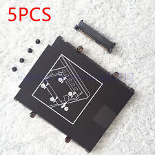 5pcs New  For HP EliteBook 9470M 9480M SATA Hard Drive Caddy + Connector