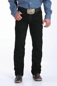 Cinch Men's Black Silver Label Slim Fit Jeans MB98034012