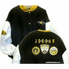 "Nike Air Jordan DMP Letterman Jacket sz 2XL  ""Wool & Genuine   ""Runs Big 3xl"""
