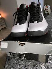 Jordan Retro 10 X White/Varsity Red 310805 100 Mens Sz 9 I