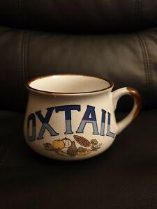 Vintage Oxtail Mug Bowl