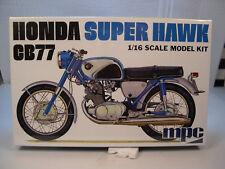 HONDA SUPER HAWK CB77 BIKE MPC 1:16 SCALE PLASTIC MODEL MOTORCYCLE KIT