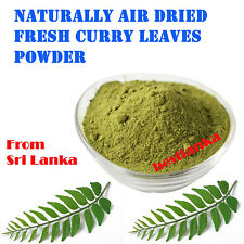Organic Curry Leaves Powder Natural Air Dried Ayurvedic Product From Srilanka