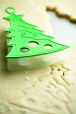 Kitchencraft Christmas Tree Kids Biscuit/Cookie Cutter.Xmas Festive Baking/Cakes