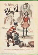 1936  THE SYDNEY MAIL MAGAZINE FOR WEDNESDAY, MARCH 25th