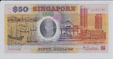 Singapore Commemorative Polymer $50 E053198 AU