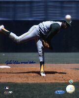BLUE MOON ODOM SIGNED MLB TRI STAR 8X10 PHOTO AUTHENTIC AUTOGRAPH
