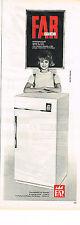 PUBLICITE  1964   FAR  réfrigérateur  frigidaire