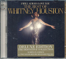 Whitney Houston The Best Of Deluxe Edition 2 CD Set 2012