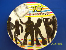"70's Decades Disco Dance Dancers Theme Retro Birthday Party 9"" Dinner Plates"