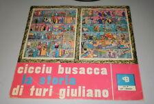 CICCIU BUSACCA - LA STORIA DI TURI GIULIANO - RARE LP 1963 DNG RECORDS - M-/VG