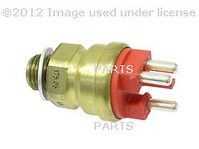 Mercedes Benz 190D 190E Behr Temperature Sensor-Electric Fan Clutch 3-Pole Red