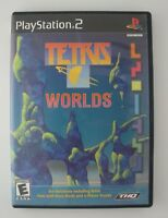 Tetris Worlds - Playstation 2 PS2 Game - Complete & Tested
