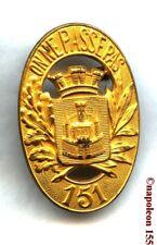 INFANTERIE. 151 eme Rgt d' Infanterie, RI. Fab. ABPD avant guerre