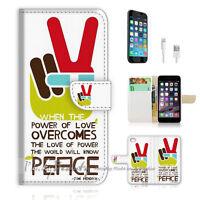 ( For iPhone 6 Plus / iPhone 6S Plus ) Case Cover P1313 Peace