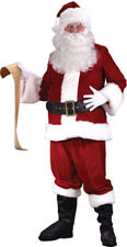 Morris Costumes Men's Holiday Santa Suit Ultra Complete Outfit Plus Size. FW7515