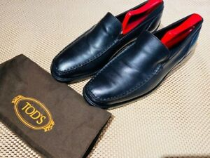 TOD'S mens shoes 8.5 =Moccasins Driving Shoes - NEW $464