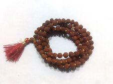 6 M.M. SMALLEST Very small and rare Rudraksha mala of 108+1 Hindu prayer beads