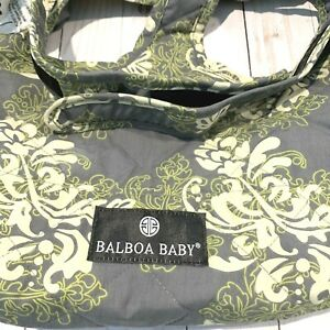 Balboa Baby Shopping Cart and High Chair Cover Quilted Patterned Excellent Cond!
