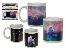 MAGIC UNICORN HEAT CHANGING STONEWARE MUG SECRET SANTA STOCKING FILLER COFFEE