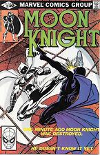 Moon Knight Comic Book #9, Marvel Comics 1981 FINE+  NEW UNREAD