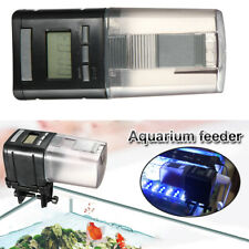 1x Digital Automatic Fish Feeder Aquarium Electrical Timer Feeding Accessories