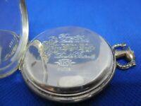 Boitier montre de poche Taschenuhrgehäuse pocket watch case SILBER 0,800 ARGENT