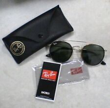 Lunettes Solaire Ray Ban Luxottica - RB3647N - Or - ROUND DOUBLE BRIDGE - NEUF