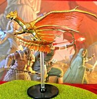 Brass Dragon D&D Miniature Dungeons Dragons elemental evil 42 adult ancient Z