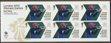 3345 A Hoja De Peter Wilson En Miniatura 2012 Juegos Olímpicos de Londres