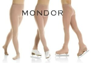 Mondor® EVOLUTION Figure Skating Tights Footed Footless Boot Cover COMFORT SOFT