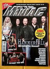 Metal Maniac Italy Mag Hammerfall Overkill Amon Amarth Zakk BLS Heavy Metal