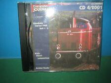 EISENBAHN JOURNAL ~ CD-ROM 4 / 2001 ONLY ~ GERMAN TEXT > VGC SEE PIC'S